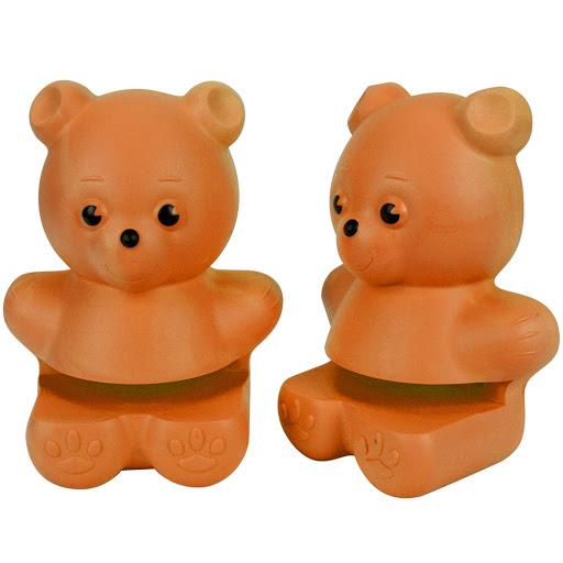 Suporte para prateleira modelo urso