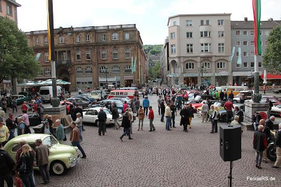 Bild vom Johannes Rau Platz Wuppertal Link zur Bildergalerie