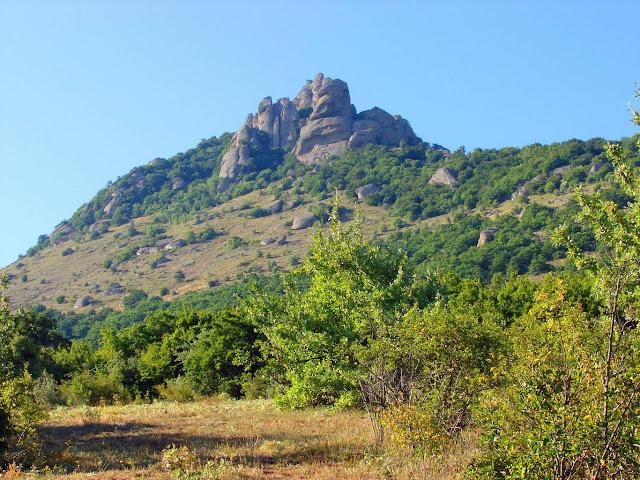 Как организовать свой отдых в Крыму - Гора Демерджи