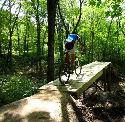 New bridge/flyover on twin lake singletrack