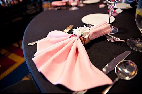 Abbey Road Weddings » The Napkin Fold