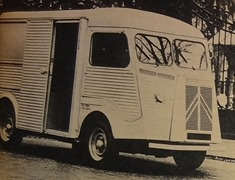 Citroen 1960 camionnette