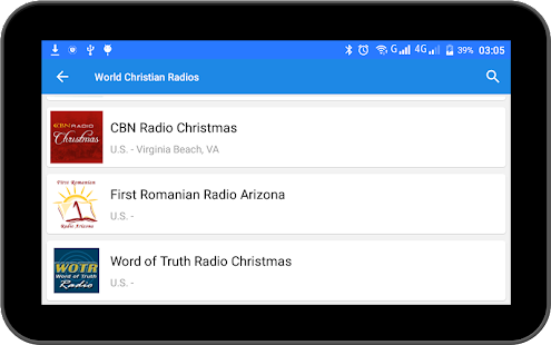 World Christian Radios- screenshot thumbnail