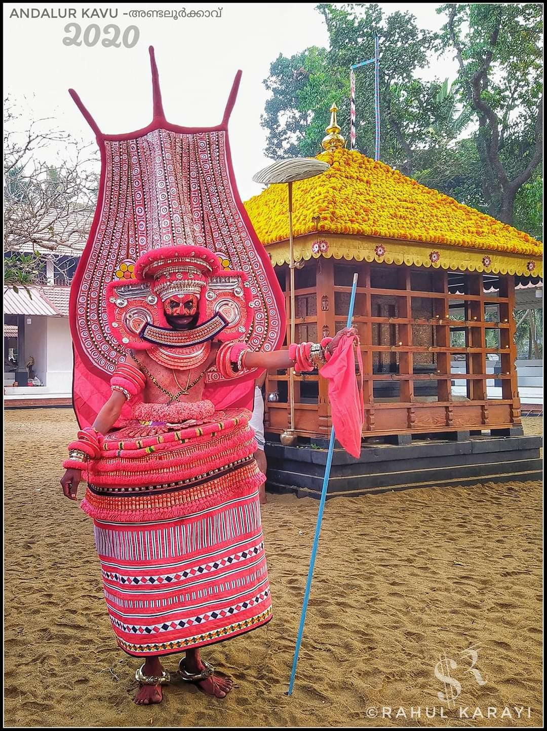 Theyyam Photos - Thoovakkali Theyyam