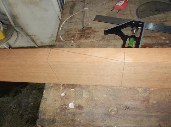 Construção inspirada Les Paul Custom, meu 1º projeto com braço colado (finalizado e com áudio) DSCF0449
