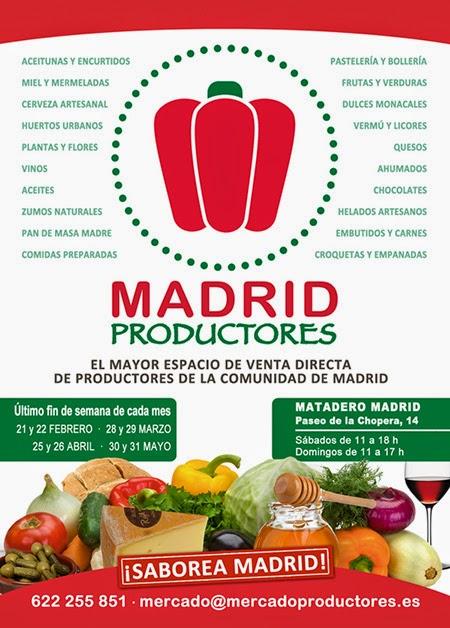 Madrid Productores, 30 y 31 de mayo en Matadero Madrid