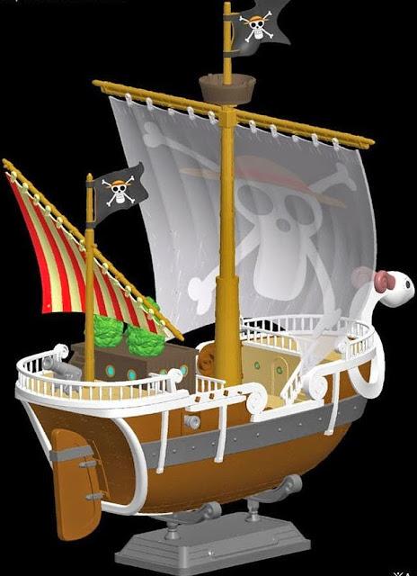 Hình ảnh Chiến thuyền One Piece Plastic Model Kit: Going Merry thật sắc nét