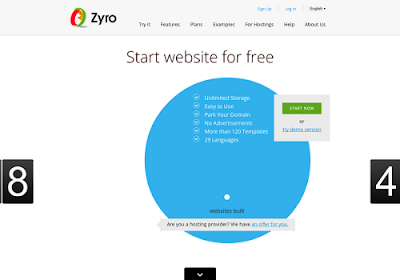 Zyro.com free online website builders