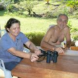 Odette & Jeannot. Camp Patawa (Montagne de Kaw, Guyane), 16 novembre 2011. Photo : C. Renoton