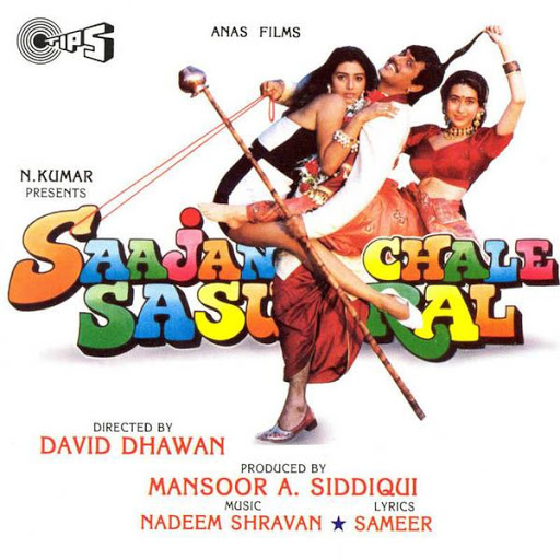 saajan chale sasural 1996 mp3 songs download. Black Bedroom Furniture Sets. Home Design Ideas