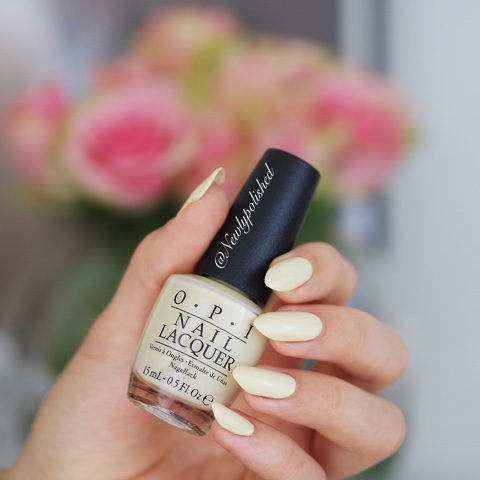 OPI One chic chick Soft Shades Pastels 2016