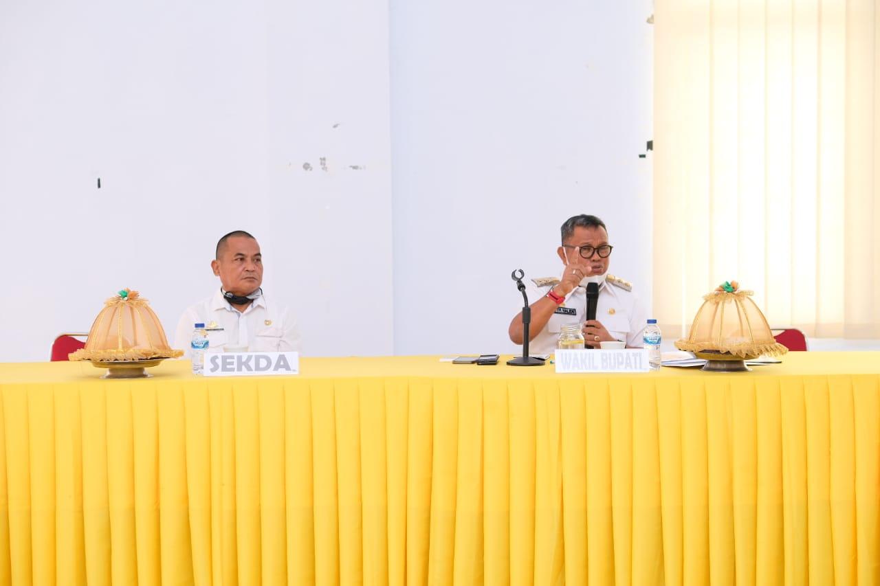 Didampingi Sekda, Wabup Soppeng Paparkan Rencana Awal RPJMD Kabupaten Soppeng