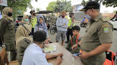 Hari Pertama PPKM Dan Penegakan Protokol Kesehatan Kota Tangerang
