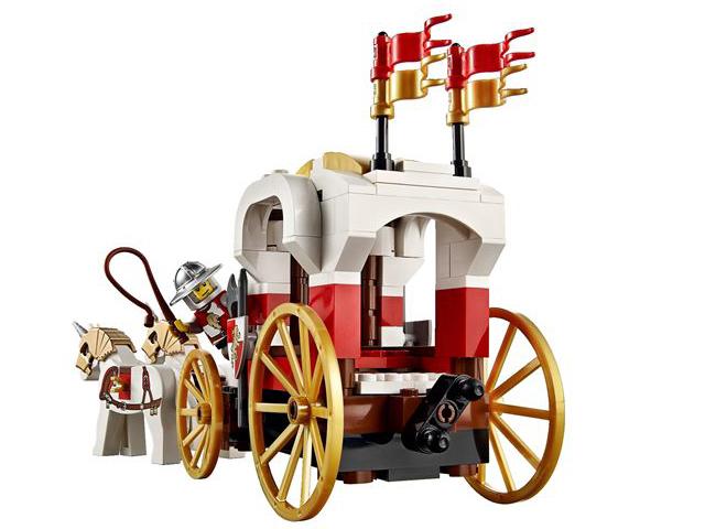 レゴ キングダム 王様の馬車を待ちぶせ 7188
