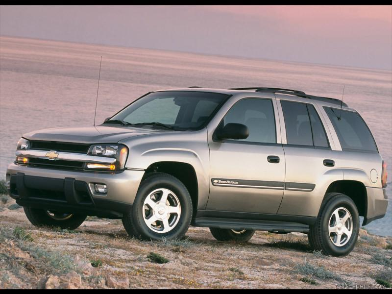 2002 Chevrolet TrailBlazer SUV Specifications, Pictures, Prices