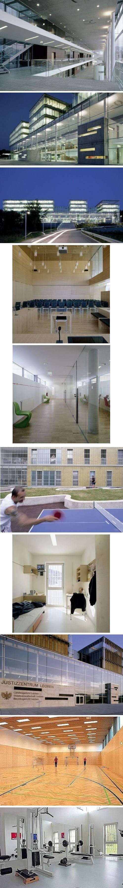 Modern Prison In Leoben, Austria