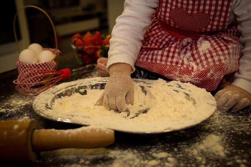 Cocinar como premio a las tareas realizadas