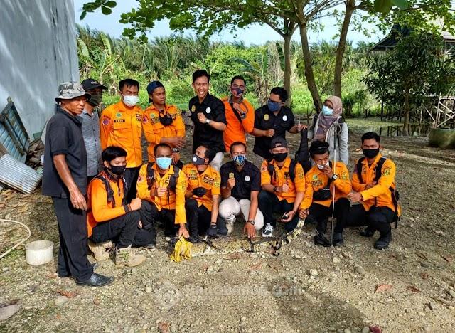 Khawatir Mulai Buas dan Liar, Buaya Peliharaan Warga Dievakusi Tim Animal Rescue