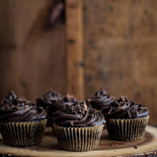 Chocolate Beet Cupcakes with Chocolate Mascarpone Frosting