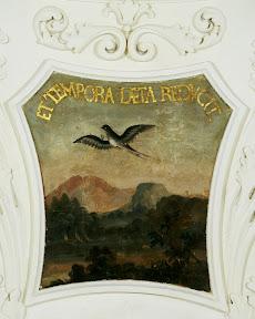Малые плафоны Парадного зала Кадриоргского дворца – ласточка
