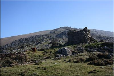 Antigua torre minera