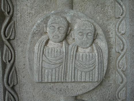 Тетрархия, вторая пара правителей (Felix Romuliana)