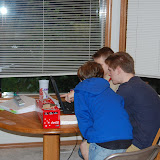 Another group of Scouts doing some researching.....