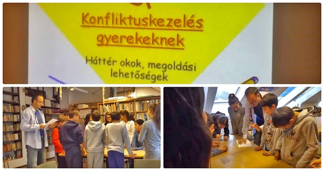 Konfliktuskezelés az iskolában Marcali 2015