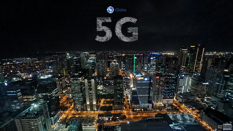 Globe Telecom's 5G network now available in 1,045 areas in PH