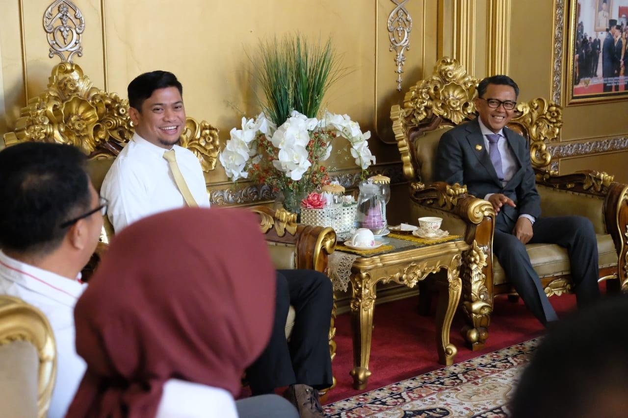 Pengurus PMI Sulsel Berkunjung Ke Rujab Gubernur Sulsel, Ini Tujuannya