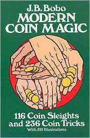 Cover of Jean Bobo's Book Modern Coin Magic