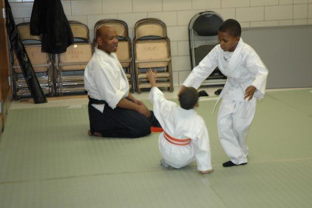 Aikido classes at Bushinkan dojo