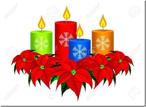 fotos velas de Navidad (1)