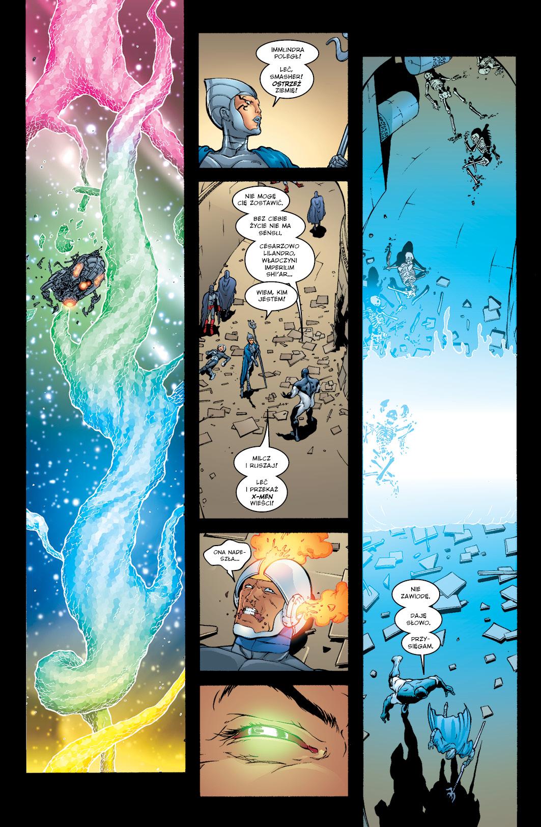 New X-Men tom 2 przykładowa strona