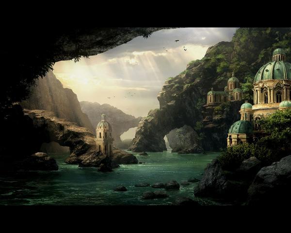 White Temple On The Seashore, Magick Lands 2