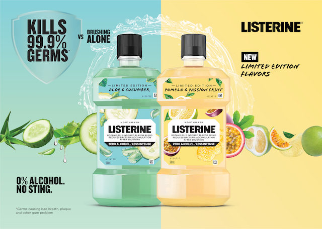 Two New Limited Edition Variants of Listerine