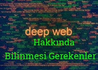 Deep web resimleri ve videoları. Deep web hakkında her şey.