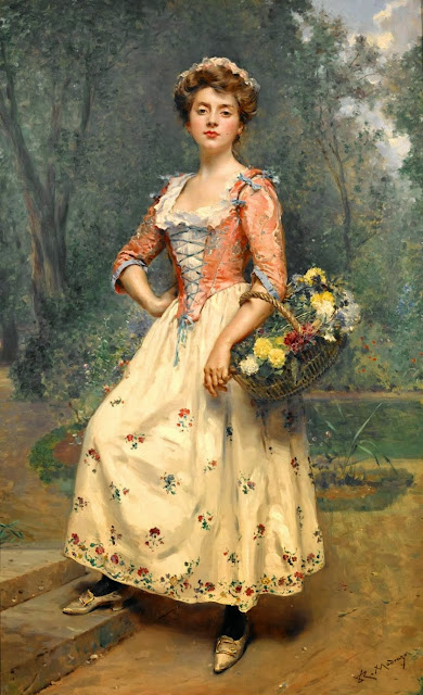 Raimundo Madrazo - Spring Beauty