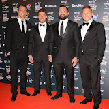 OIC - ENTSIMAGES.COM - Sam Warburton, Rhys Webb, Alex Corbisiero and Dylan Hartley  at the  the BT Sport Industry Awards at Battersea Evolution, Battersea Park  in London 30th April 2015  Photo Mobis Photos/OIC 0203 174 1069