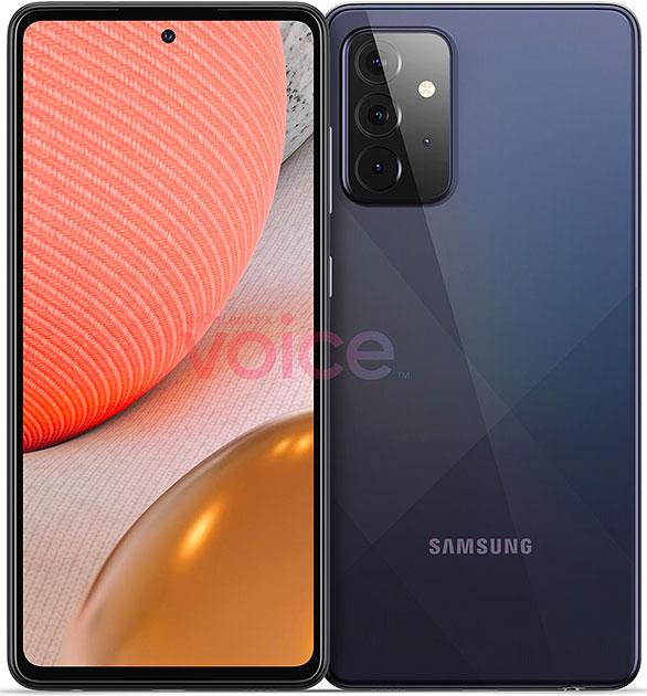 Samsung upcoming phone A72.