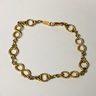 14K Gold Unoarre Bracelet