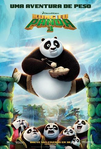 Kung Fu Panda 3 - Pôster nacional