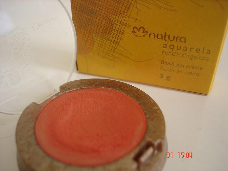 Blush em creme Natura Aquarela