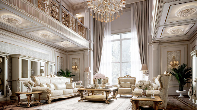 Khám phá nội thất biệt thự sang trọng đẹp hiện đại