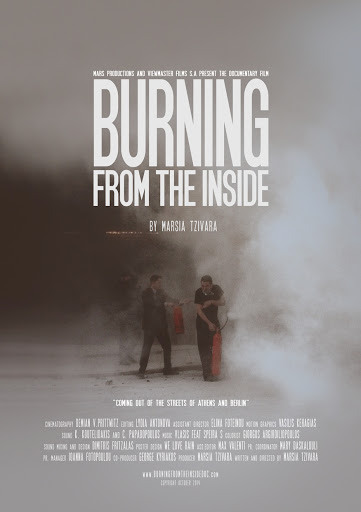 Burning from the inside Poster