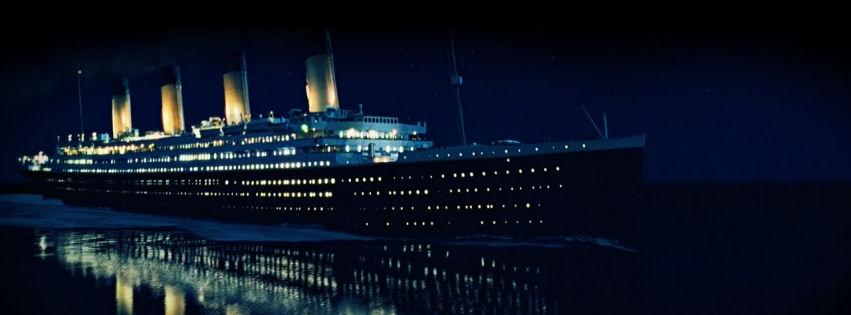 Titanic ship facebook cover