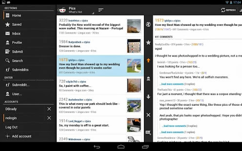 Reddit News v7.23 for Android