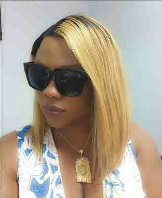 Daniella Okeke rocks Gold Jesus Piece Necklace