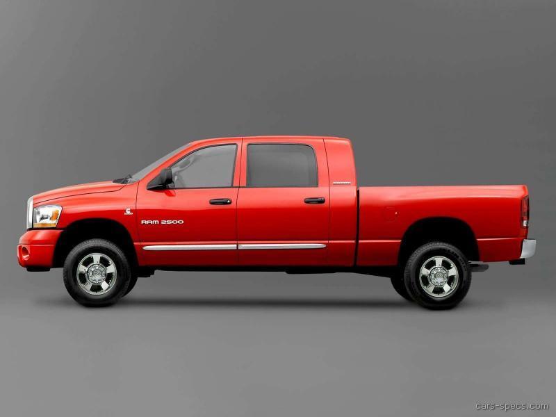 2007 dodge ram pickup 1500 mega cab specifications pictures prices. Black Bedroom Furniture Sets. Home Design Ideas