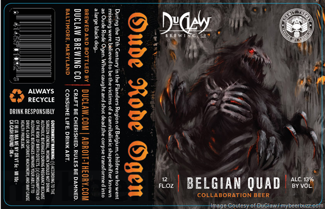 DuClaw Adding Oude Rode Ogen Belgian Quad